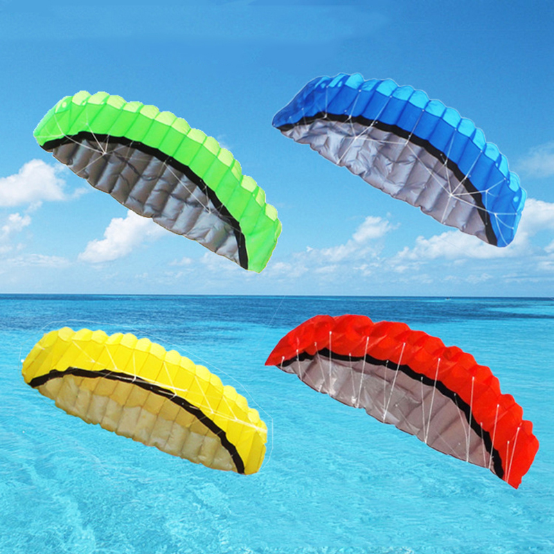 2.5m Fly Sailing Travel Outdoor Flying Toys Beach Kite Stunt Kite Surfing h