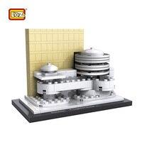 LOZ Mini Building Blocks Little Bricks Toys Guggenheim Museum World Famous Building Architecture DIY Educational Model