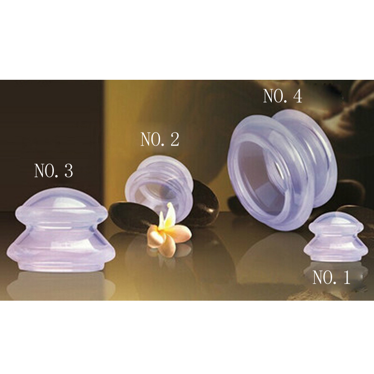 4pcs Vacuum Cupping Cups Transparent Silicone Face Beauty Clearing Damp Body Massage Slimming Helper Suction Cup Anti Cellulite 1pcs tomato massage cups anti cellulite vacuum suction silicone body pain relax helper cute tomatoes relieve pain cups c1326