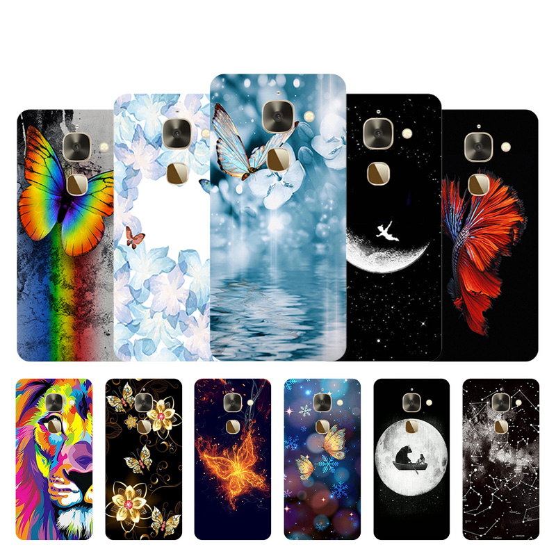 Soft TPU Case For Letv Le 2 2 Pro X527 X620 Silicone Cover 5.5 inch For LeEco Le Eco S3 Back Phone Cases Butter Design Shells