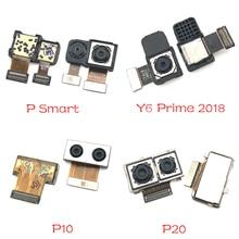 Módulo de câmera traseira para huawei, módulo para huawei p9 p10 plus p20 mate 9 10 20 lite pro p smart y6 prime 2018 módulo de câmera traseira grande