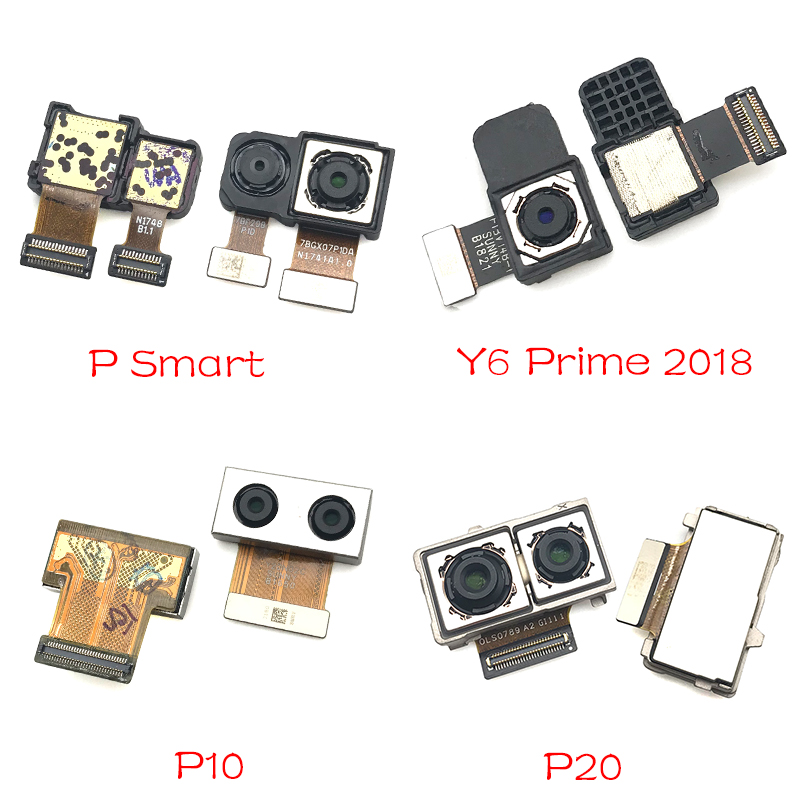 New Rear Back Camera Module For Huawei P9 P10 Plus P20 Mate 9 10 20 Lite Pro P Smart Y6 Prime 2018 Back Big Camera Module