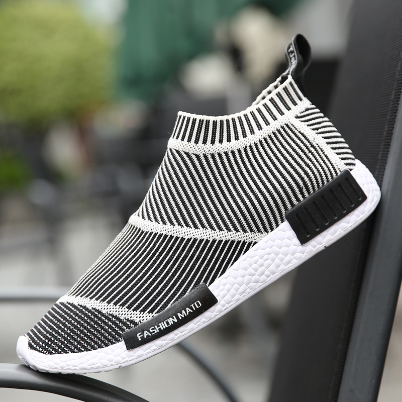 ФОТО New Fashion Men Casual Shoes Breathable High Quality Fashion Mens Trainers Luxury Branded Designer Male Shoes Zapatillas Hombre