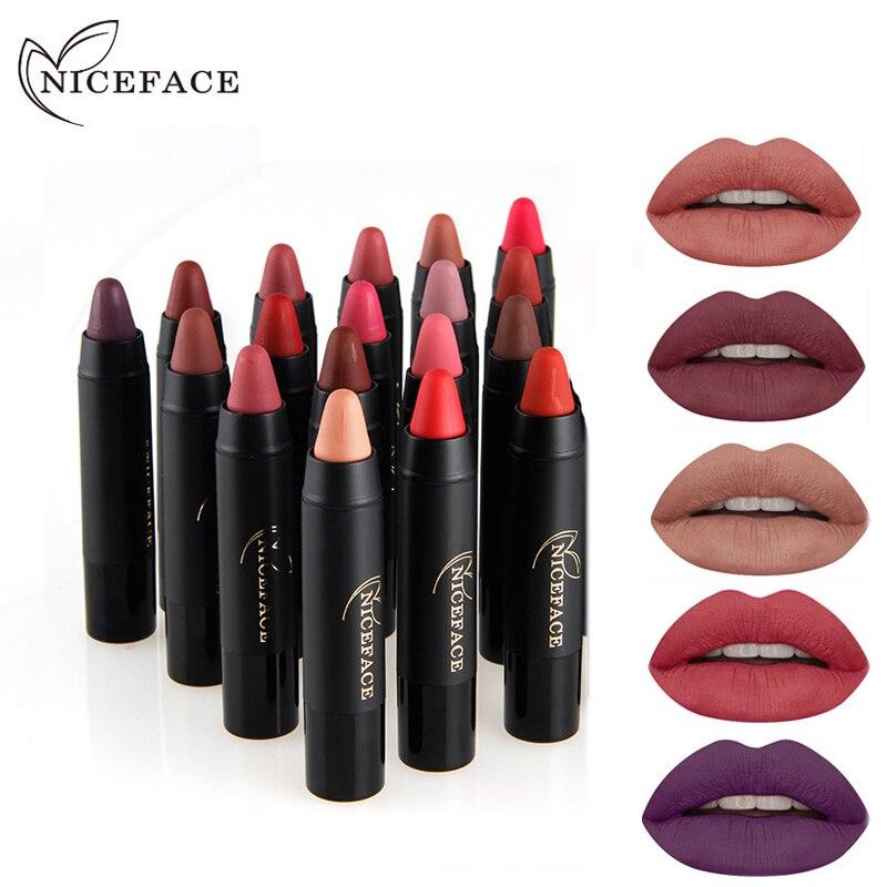 Aliexpress.com : Buy 2 In 1 Lipliner + Lipstick Matte Lip
