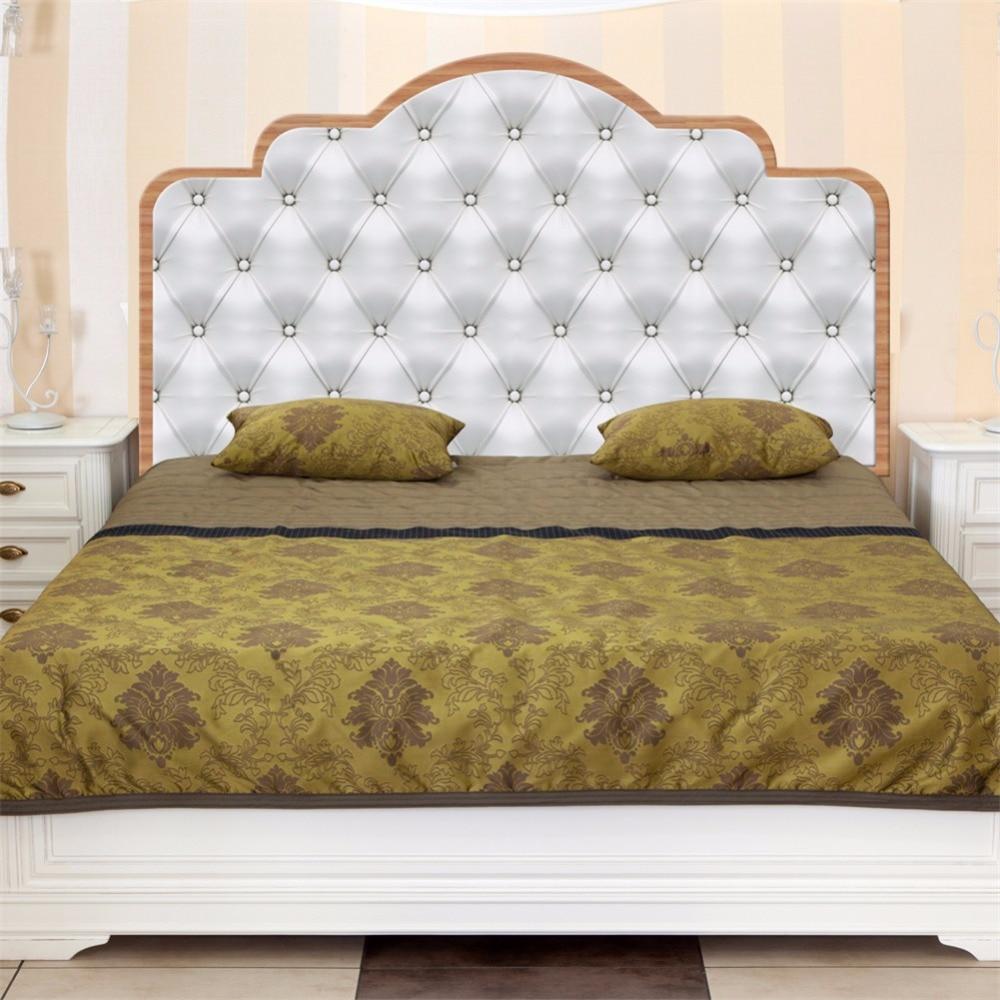 Yanqiao Modern Luxury Faux Headboard Bed Sticker Womens ...