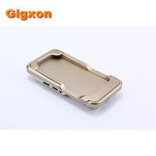 Gigxon-i60 + proyector mini proyector dlp para el iphone 6 serie hdmi full hd 1080 p smartphone pico proyector de bolsillo portátil