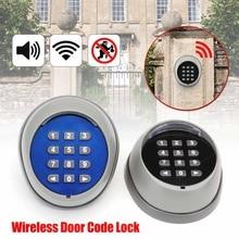 1 шт. черный/синий дверной замок контроль доступа беспроводной кнопочный переключатель с паролем комплект для мотор двери ворот Пульт дистанционного управления доступом