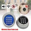 1 PCS Preto/Azul kit chave Fechadura Da Porta de Controle de Acesso senha Do Teclado Sem Fio para a porta do portão de acesso DO MOTOR remoto controle