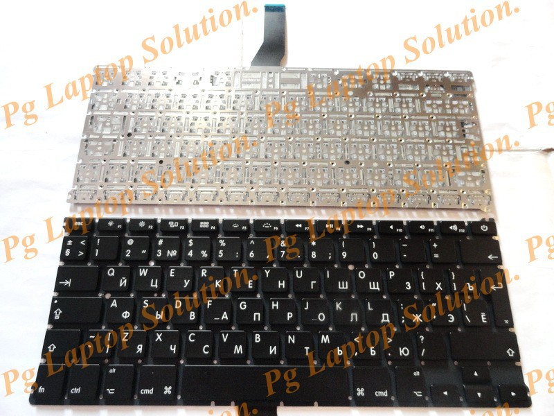 13 RU keypad For MACBOOK Air 13 A1369 2011 2012 2013 Russian Keyboard MD231 MD232 MC503 MC504 New Free shipping free shipping bareoriginal 6912b22002b tv bulb for ru 44sz51rd ru 44sz61d ru 44sz63d ru 48sz40 ru 52sz51d ru 52sz61d rz 44sz22rd