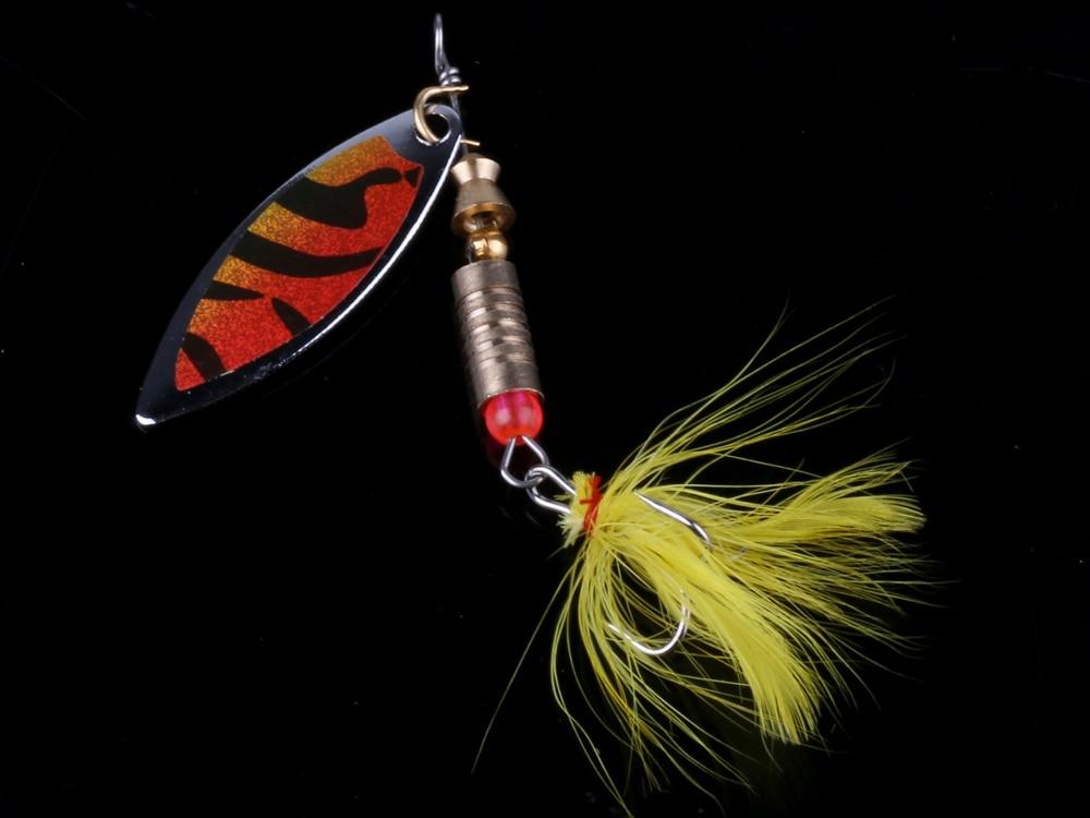 10PCS Fishing Spinner Spoon Bait 7.5cm//10g Metal Crankbait Lures Bass Trout