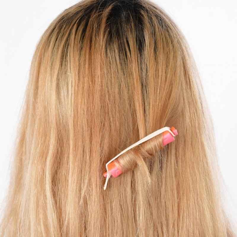 6/12 шт. парикмахерские DIY Перми волна стержень Салон волос ролик резинкой зажим для волос Керлинг парикмахерскими чайник Стайлинг DIY инструмента