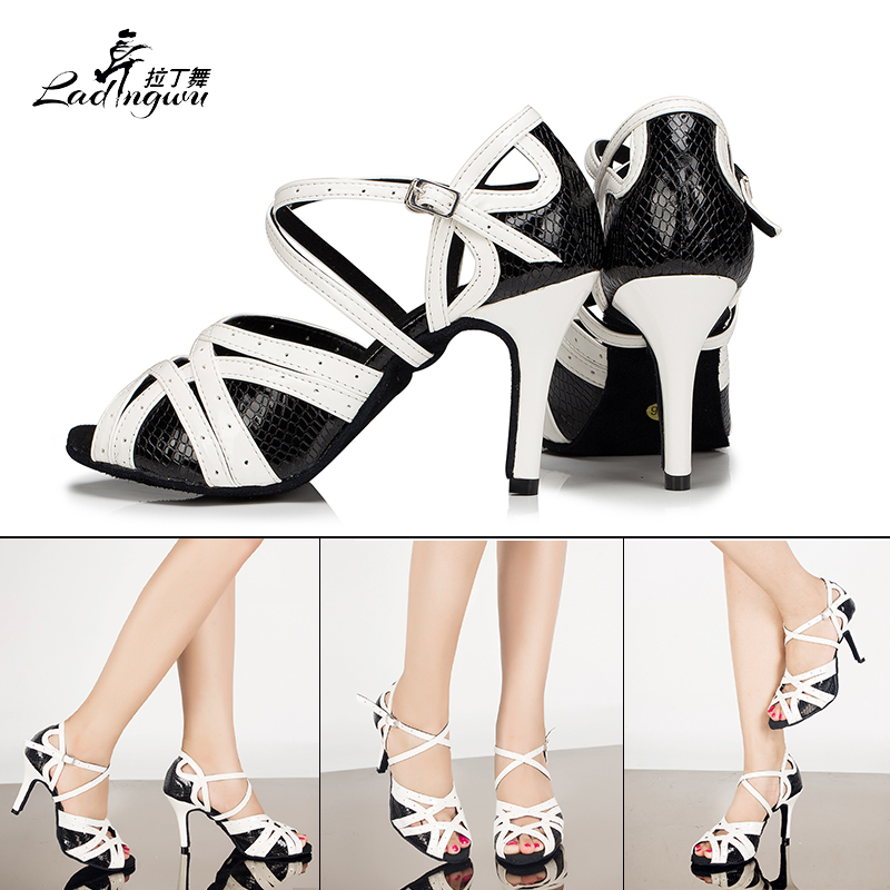 Ladingwu Hot Sale Spot Әйелдердің Латын Dance Shoes - Кроссовкалар - фото 5