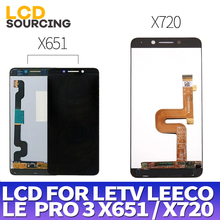 """5.5 """"per Letv LeEco Le Pro 3 LCD X651 X650 Display Touch Screen Per Le Pro 3 Display LCD x720 Sostituire Digitizer Assembly X727"""