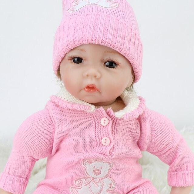 Boneca reborn 55 centímetros suave silicone bonecas para meninas lol lol munecas corpo de silicone bonecas para meninas bebê surpresa bebê vivo