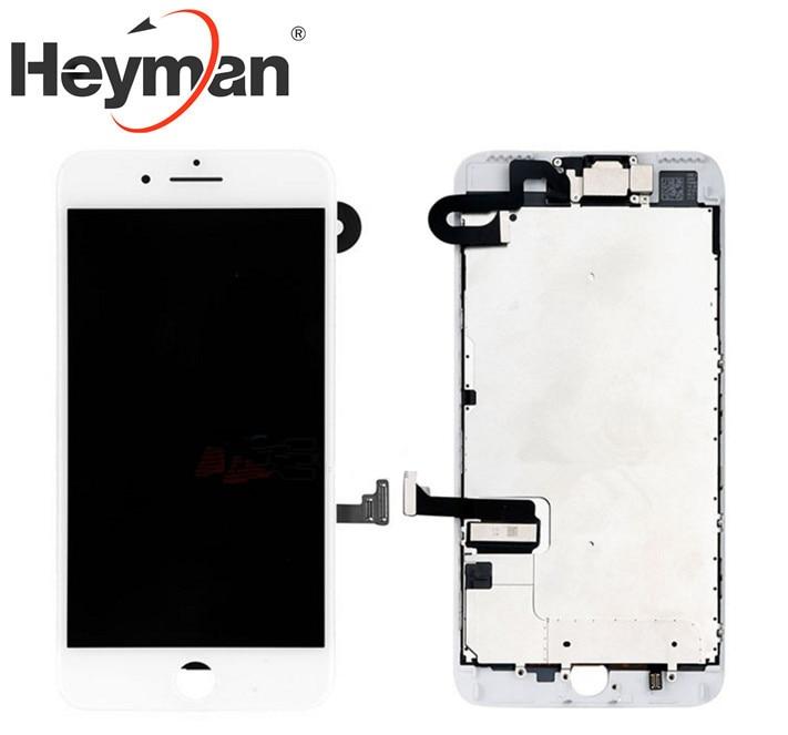 Écran LCD pour Apple iPhone 7 Plus et numériseur avec cadre et remplacement de petites pièces (sans bouton d'accueil