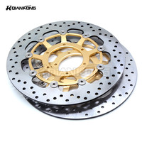 Aluminum Alloy Inner Ring Stainless Steel Outer Ring 2 Pieces Motorcycle Front Brake Discs Rotor For