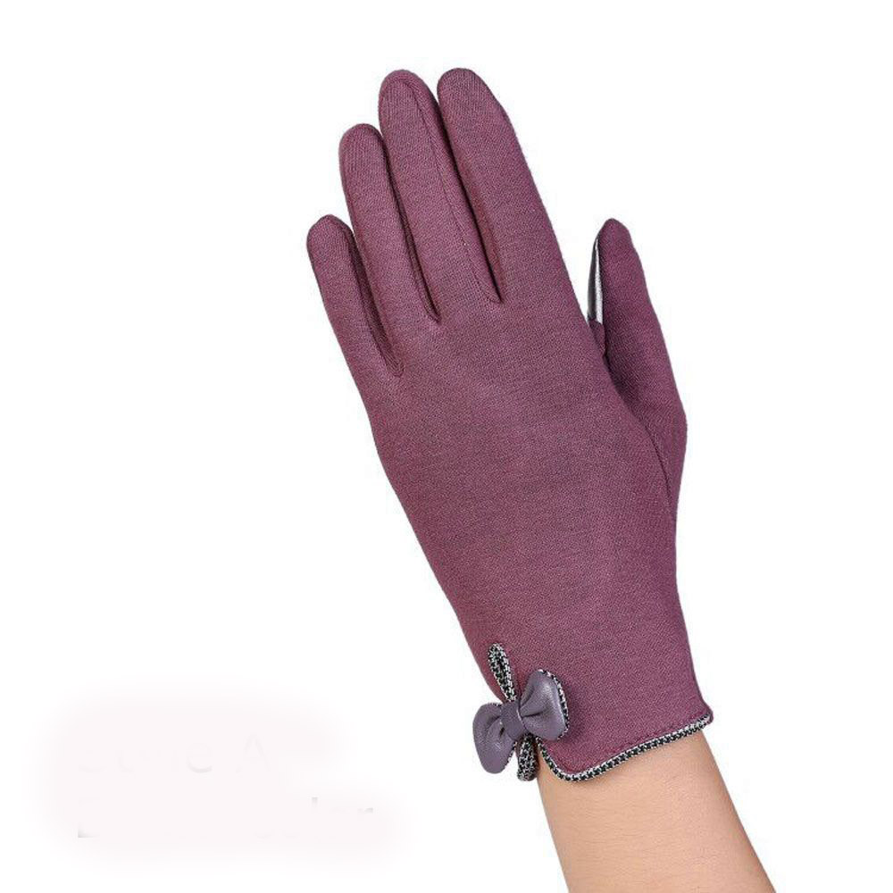 Gloves With Fingertips Out: 1 Pair Fashion Women's Gloves Female Full Fingers Gloves