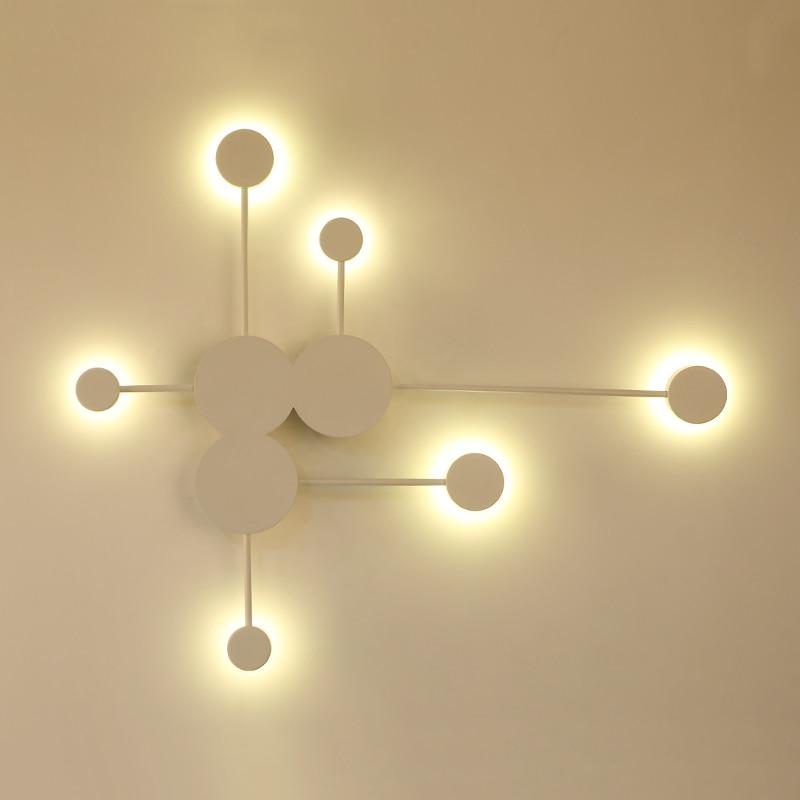 pretoourobranco moderno led lampadas parede para 02