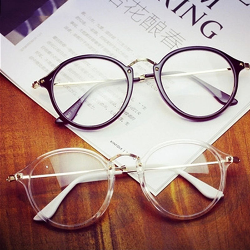 KOTTDO 2018 Kvinner Retro Myopi Eyeglasses Frame Female Eye Glasses Vintage Optiske Glasser Prescription Transparent Frame