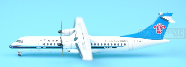 GJCSN1316 GeminiJets China Southern Airlines B-3027 1:400 ATR-72 commercial jetliners plane model hobby