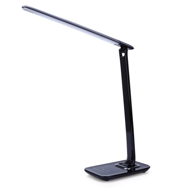 New Arrival LED Table Lamp TZ 009U 12W Foldable 7-levels Dimmer Rotatable Eye Care LED Desk Lamps Touch-Sensitive Controller USB