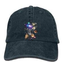 Hip hop gorras de béisbol hombres divertidos sombrero mujeres novedad  Sistema Solar Planetscool cap(China 0c6aedf12dd