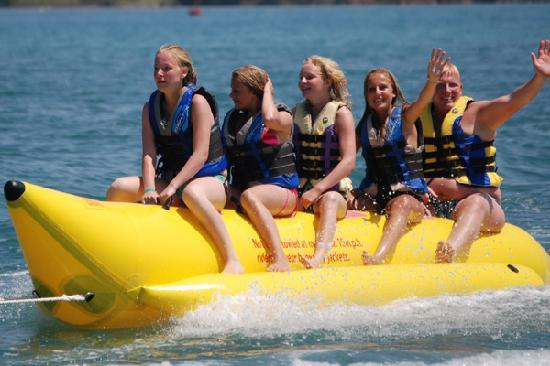 manufacturer and supplier inflatable banana boat