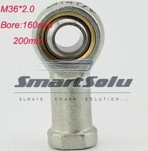 Бесплатная доставка 2 шт. M36 С Внутренней Резьбой Тяги Совместное Подшипника SI36T/K PHSA36 воздушный цилиндр подшипник для 200 мм отверстие размерами