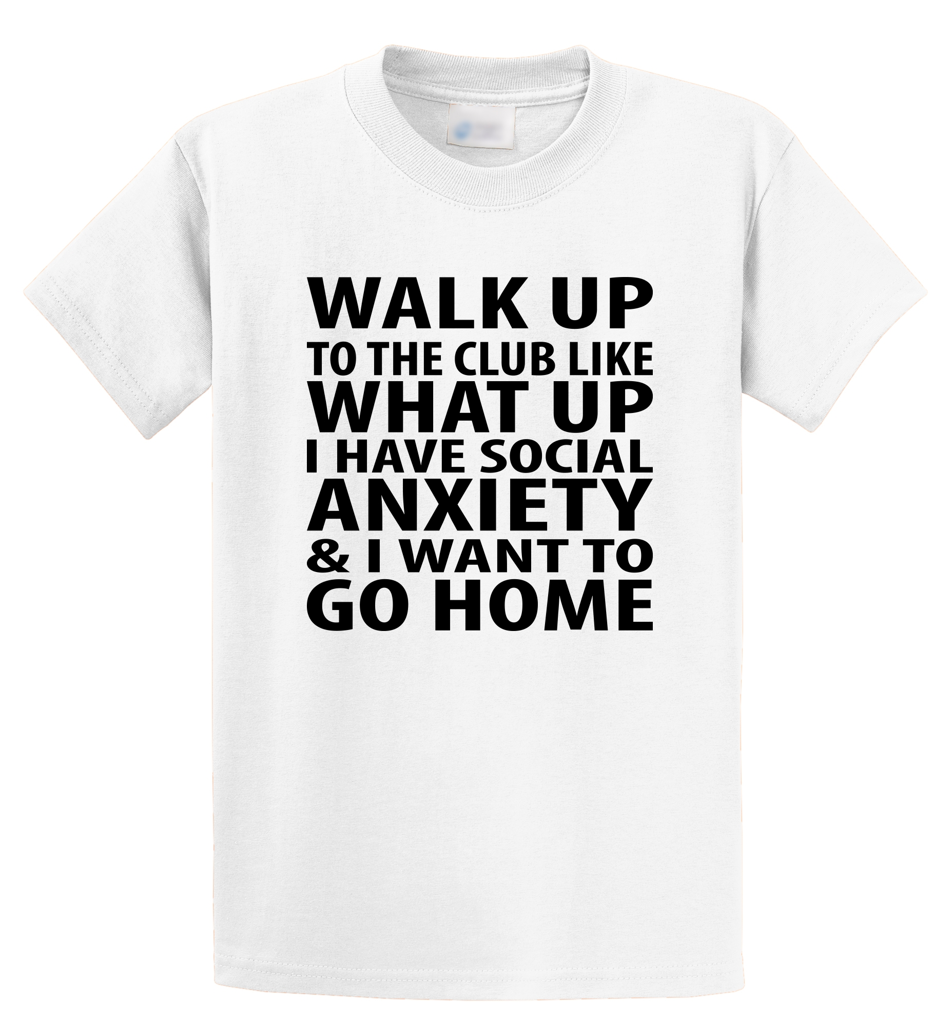 T Shirt Design Template Zomer Walk Up To The Club Funny Antisocial Song Music 16 Cols O-Neck Short-Sleeve T Shirts For Men
