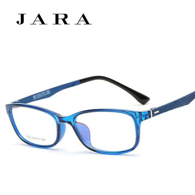 JARA Óculos de TR90 de Alta qualidade Estilo Coreano Estudantes Tendência Unisex Óculos Míopes Enquadrar Quadro Completo