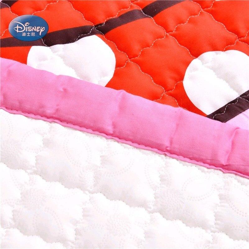 Disney Cartoon rose Minnie Mickey Mouse bébé filles garçons ramper jeu tapis tapis 150X200 CM tapis 100% coton - 3