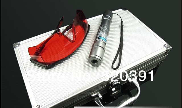 Super Powerful Blue laser pointers 20000mw/20W 450nm burning match dry wood/black/Burn cigarette+5 caps+charger+glasses+gift box