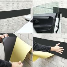 3/6mm 200x20cm Car Door Protector Garage Rubber Wall Guard Bumper Safety Parking Damping Sticker Car Styling Waterproof Stickers
