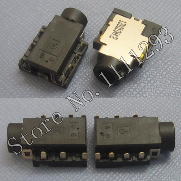 US $15 0 |5pcs/lot Audio Combo Jack Socket Connector for Ausu A450J X450J  X450JN Dell Lenovo Laptop etc Headphone MIC Jack-in Connectors from Lights  &