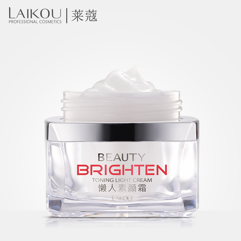 Invisible Concealer LAIKOU instant tone up face primer makeup cream foundation cream brighten toning light complex repair face