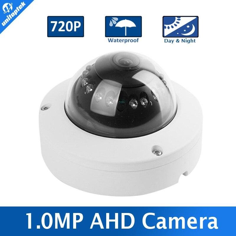 bilder für 1.0MP 720 P Ahd-dome-kamera 1080 P Cctv 3,6mm Objektiv IR 10 mt Nachtsicht Vandalensicher Im Freien Wasserdichte Arbeit Für AHD DVR