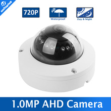 1.0MP 720P AHD Dome Camera 1080P CCTV Security 3.6mm Lens IR 10m Night Vision Vandal-Proof Outdoor Waterproof Work For AHD DVR