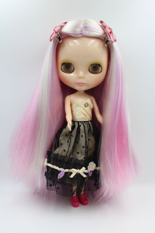 Free Shipping big discount RBL 249DIY Nude Blyth doll birthday gift for girl 4colour big eyes