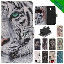 Flip Case for Samsung Galaxy J3 J330 2017 PU+TPU Case for Samsung J 3 J 330 2017 SM-J330F/DS wallet Leather mobile phone bag