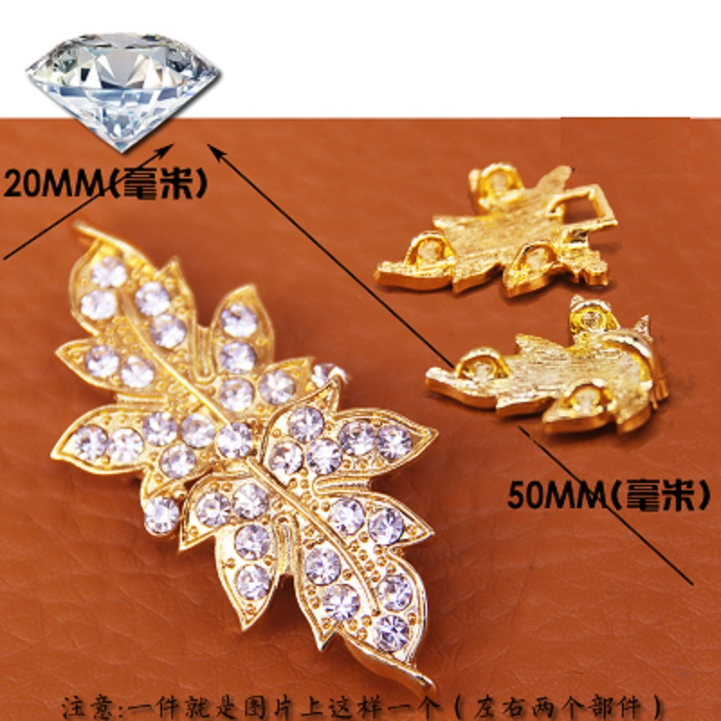 Home & Garden Just Hot High Grade Button Diamond Buckle Mink Fur Mink Coat Mink Hair Button Drill Buckle Charm For Fashion Charm On The Buckle Show