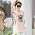 Maternity T-Shirts Nursing Clothes for Pregnant Women Summer Cotton Funny Breastfeeding Tops Pregnancy Clothing Nursing Shirt