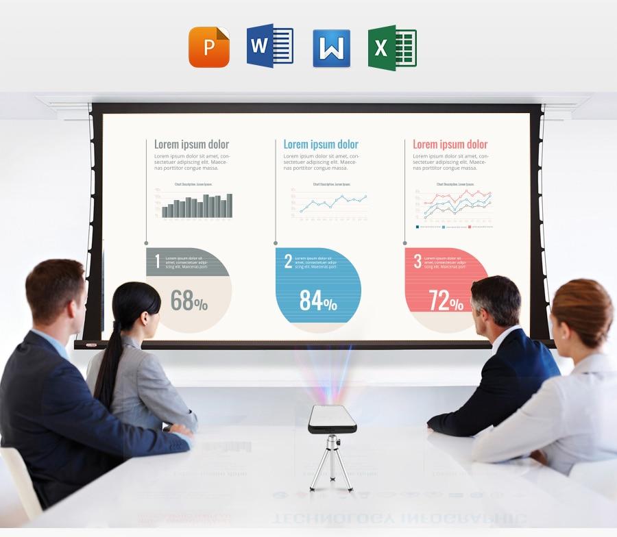 AODIAN AODIN 3D HD Mini projector DLP support 1080P video 8G pico pocket projector for home theater HDMI smart led portable projectors-07