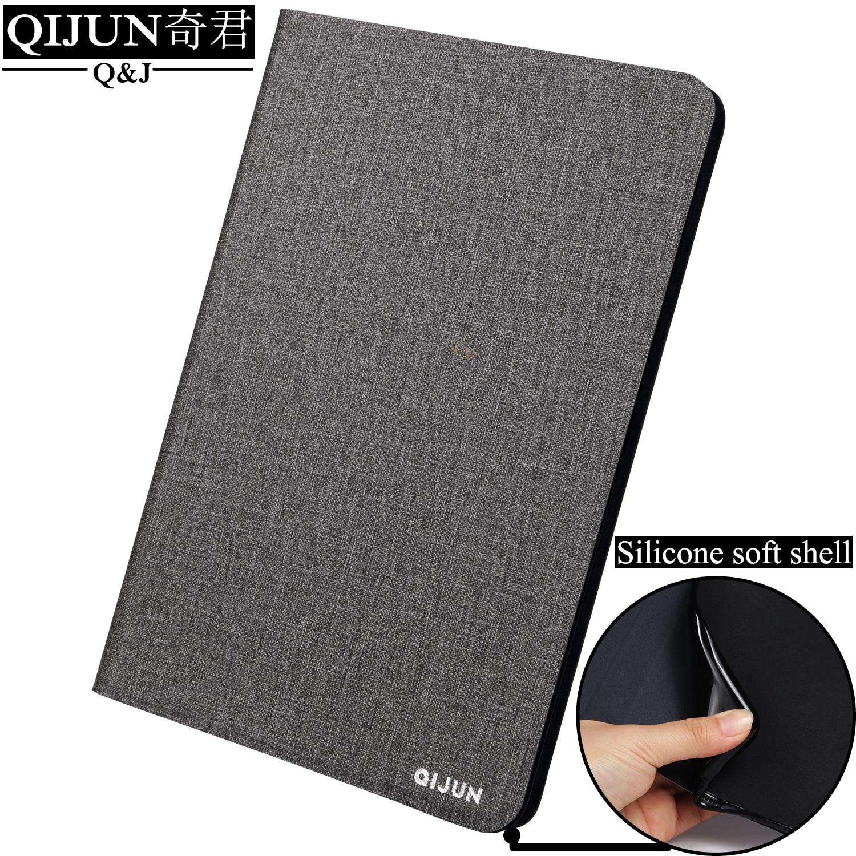 Aleta de Couro caso Tablet Para A Apple iPad Air 2 fundas Tampa do Suporte de Proteção Soft Shell capa cartão para Air2 A1566 a1567 9.7-polegada