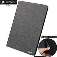 Étui en cuir pour tablette pour Apple iPad 2/3/4 fundas housse de protection en silicone souple capa pour iPad2 iPad3 iPad4 9.7 pouces