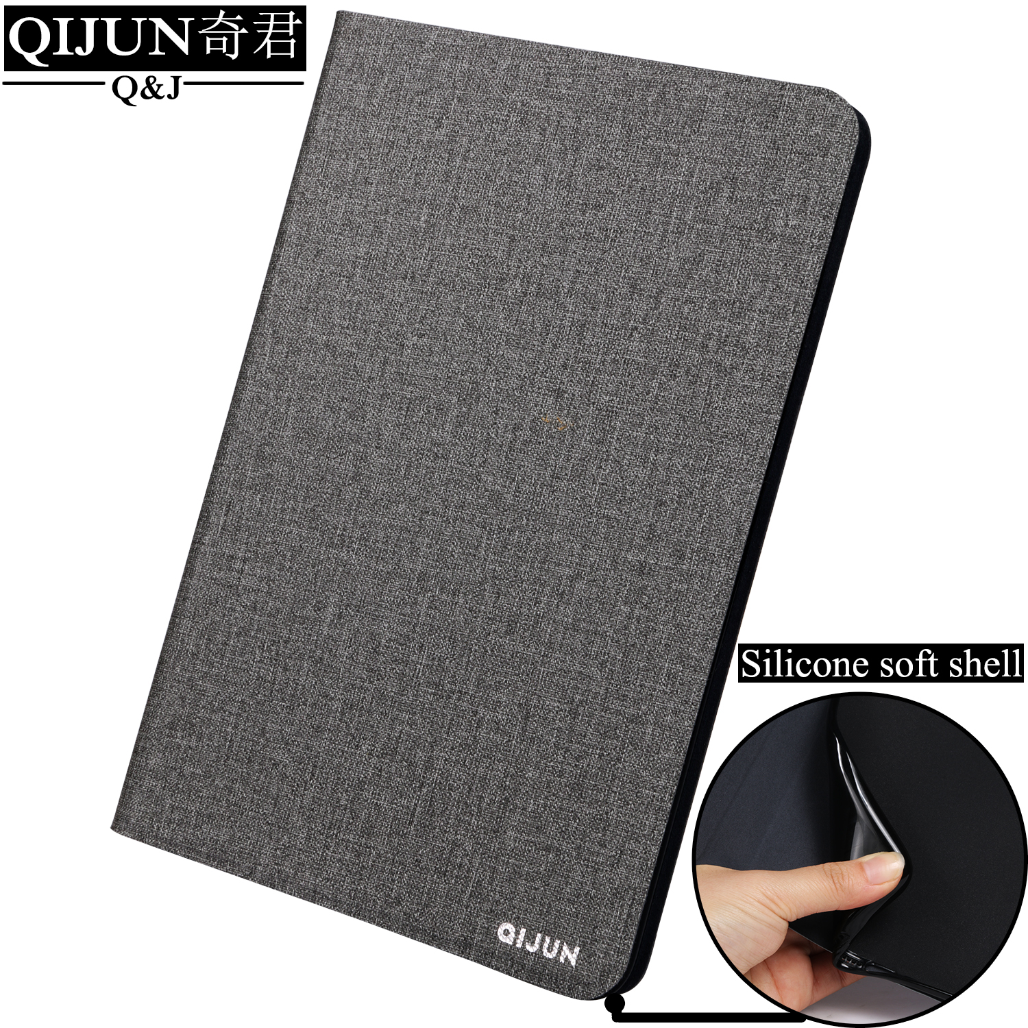 Flip Leather Tablet case For Apple iPad Air 2 fundas Protective Stand Cover Soft Shell capa card for Air2 A1566 A1567 9.7-inch image