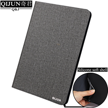 купить Flip PU Leather Tablet case For Xiao Mi pad 4Plus 10.1-inch fundas Protective Stand Cover Soft Shell capa card for Mipad 4Plus дешево