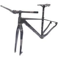 2017 FCFB MTB рама MTB велосипеда углерода горы карбоновая рама 29er * 15.5 17/19 дюймов углерода руль подседельный стволовых седло