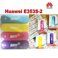 Lote de 100 pcs NOVO Desbloqueado HUAWEI E353 USB DONGLE de BANDA LARGA MÓVEL