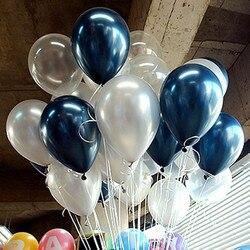 10 шт./лот 10 дюймов молочно-белый латексный шар надувные воздушные шары детский день рождения шарики для свадебного украшения поплавок
