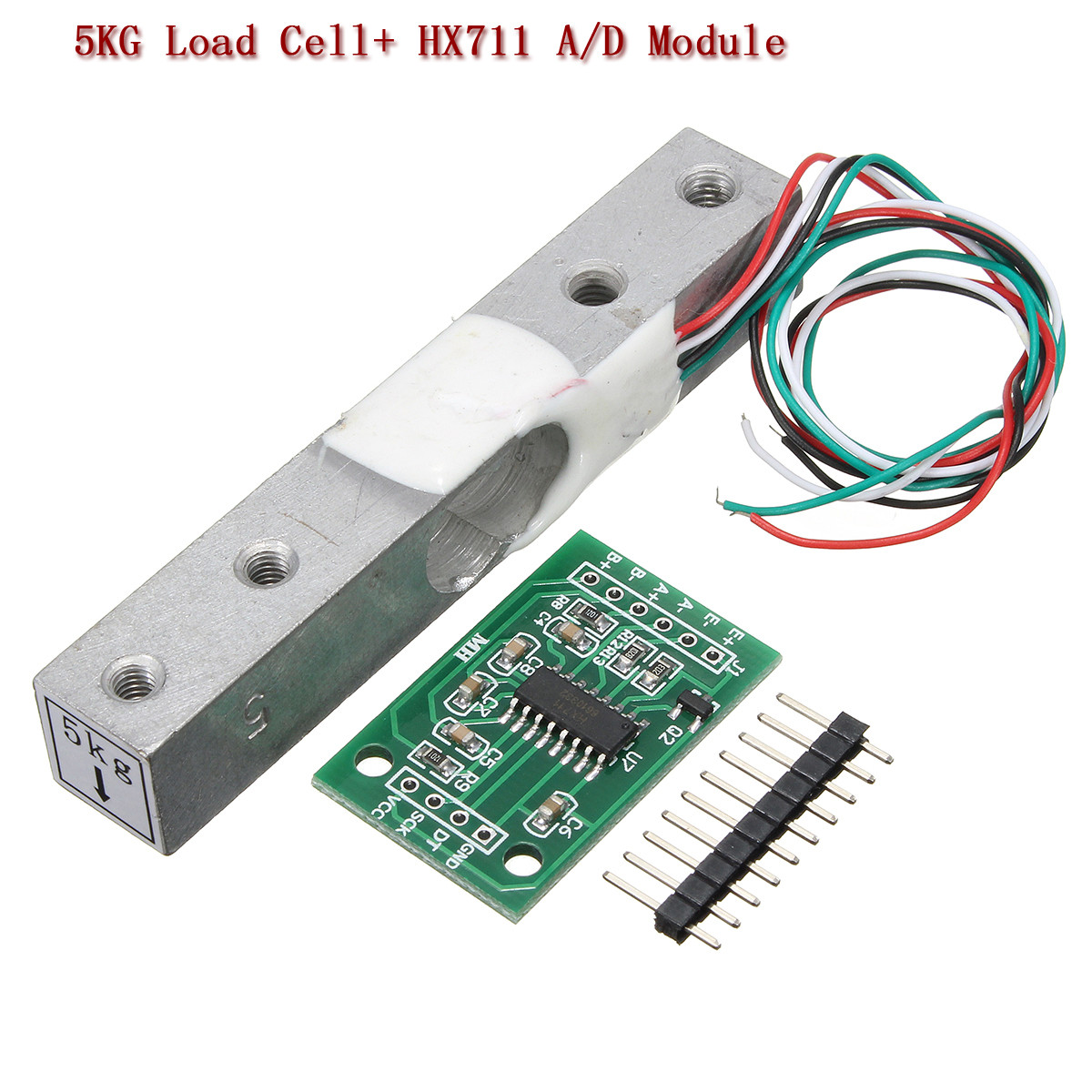 1//5//10//20KG Weight Sensor Scale Load Cell HX711 AD HX711AD Weighing Module